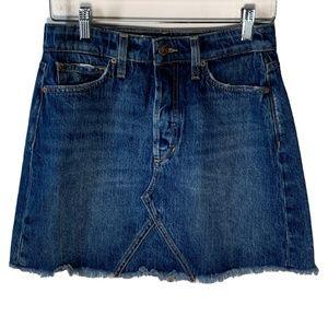 Joes Jeans Taylor Hill Womens Jean Skirt Denim 26